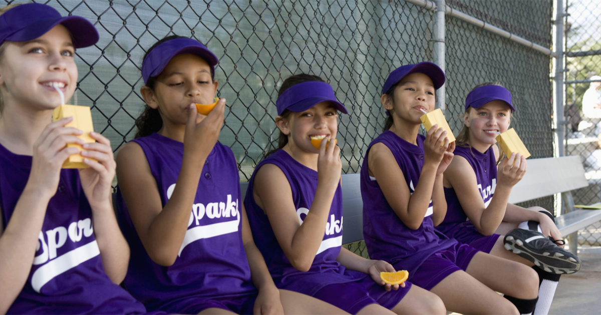 Snack hacks for parents of young athletes