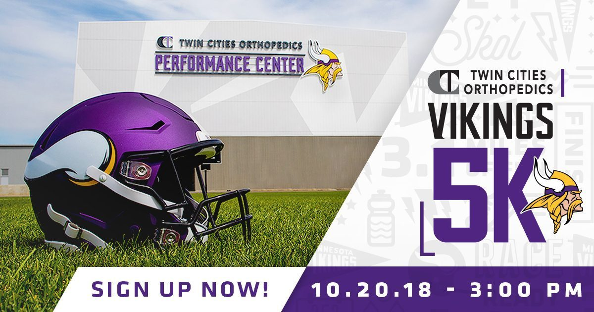 TCO Vikings 5K takes place Oct. 20 in Eagan